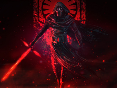 Ситх, Меч, madeinkipish, Kylo Ren, Characters, Световой Меч, Star Wars, Fantasy, Art, Sam ..., Кайло Рен