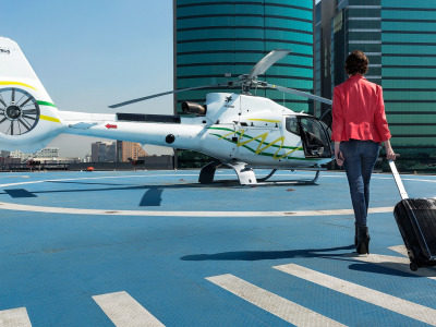 Вертолетное такси, helicopter air-taxi, Airbus Helicopters, Mexico City, Мехико