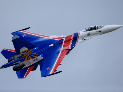 Обои Russian knights, Su-27, aerobatic team скачать