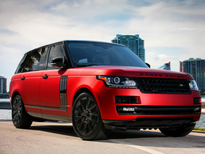 Обои complete, with, exterior, LWB, Range Rover, Supercharged, two-tone скачать
