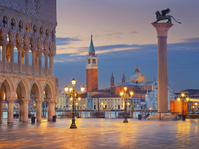 City, город, Италия, Венеция, Italy, panorama, Europe, view, Venice, cityscape, travel, Площадь Сан Марко, Sun