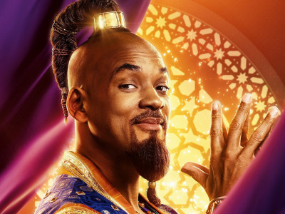 Взгляд, Aladdin, Will Smith, Уилл Смит, Аладдин, Джинн