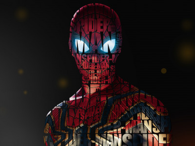 Girl, Fantasy, Art, Style, Background, Illustration, Spider-Man, Spider Man, Typography, Creatures, Character, Umesh Dikonda