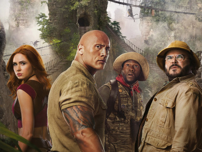 Дуэйн Джонсон, Dwayne Johnson, Джек Блэк, Jack Black, Карен Гиллан, Karen Gillan, Kevin Hart, Кевин