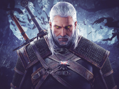 Обои Геральт из Ривии, The Witcher 3: Wild Hunt, Ведьмак 3: Дикая охота, Geralt of Rivia скачать