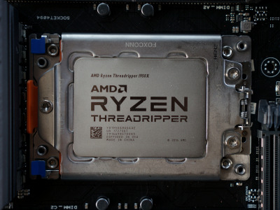 Обои AMD, процессор, TR4, Ryzen, 1950X, Threadripper скачать
