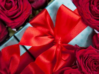 Red, love, romantic, gift, roses, красные розы, valentine`s day