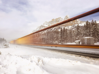 Banff National Park, Canadian Rockies, Invisible Freight, Canadian Pacific Railway