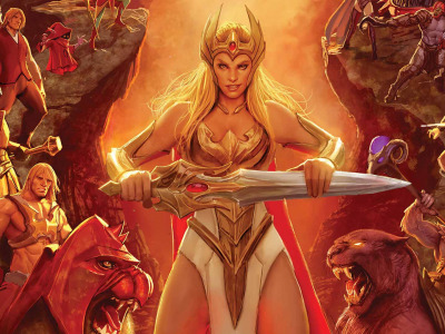 Обои Cartoon, warrior, powerful, strong, muscular, Masters of the Universe, She-Ra, He-Man, He Man, She-Ra Princess скачать