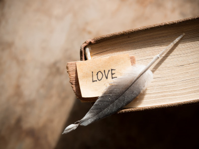 Перо, книга, love, vintage, i love you, heart, romantic, book