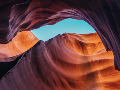 Обои Antelope Canyon, Usa, Canyon, Lower Antelope скачать