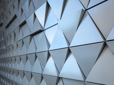 Abstract, wall, design, texture, треугольник, background, steel, triangle