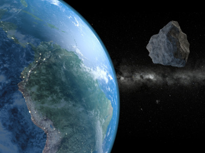 Space, Asteroids, Earth From Space