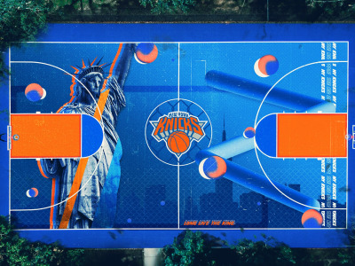 Обои Terry Soleilhac, Knicks, New York Knicks, by Terry Soleilhac скачать