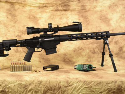 Ruger, caliber 6.5, Precision Rifle
